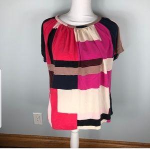 Kate Spade Silk Blouse Size 12